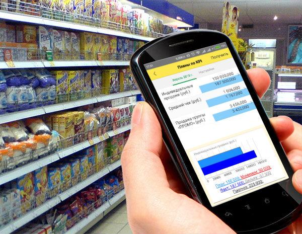 Мобильное приложение ТопФактор:Управление по целям и KPI в ритейле